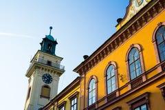 Town Hall, Cieszyn, Poland royalty free stock photography