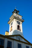 Town Hall, Cieszyn, Poland stock photo