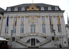 Town Hall of the city of Bonn in Germany Stock Photography