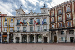 Town hall of the city of Burgos, Castilla Spain Stock Photography