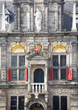 Town hall in city Delft, Netherlands Royalty Free Stock Photos