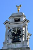 Town Hall clock detail. In england Stock Photography