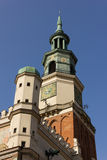 Town Hall clock tower. Poznan. Poland Stock Image