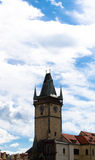 Town Hall Clock Tower Stock Photo
