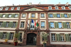 Town hall in Colmar Stock Photo