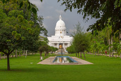 The Town Hall of Colombo. Is the headquarters of the Colombo Municipal Council and the office of the Mayor of Colombo Stock Photography