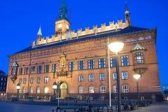 Town Hall of Copenhagen Stock Images