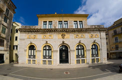 The town hall of COrfu island Stock Image