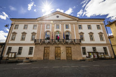 Town hall - Cortina d'Ampezzo. Comune Royalty Free Stock Photos