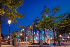 Town Hall. Dun Laoghaire. county Dublin. Ireland. Town Hall at night. Dun Laoghaire. county Dublin. Ireland Stock Photos