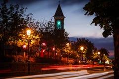 Town Hall. Dun Laoghaire. county Dublin. Ireland. Town Hall at night. Dun Laoghaire. county Dublin. Ireland Stock Image