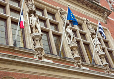 Town hall in dunkerque Royalty Free Stock Images