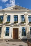 Town hall Esens Portal perspective Stock Photography