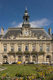 Town Hall facade. Tours. France Stock Photo