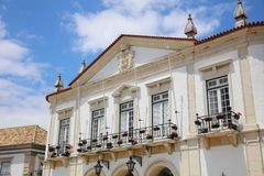 The Town Hall in Faro. Algarve. Portugal Stock Images