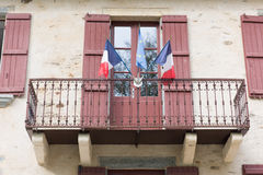 Town hall in France Royalty Free Stock Images