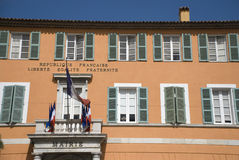 Town Hall of Frejus Stock Photography