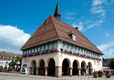 Town Hall in Freudenstadt, Germany Royalty Free Stock Photo