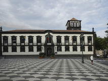 Town hall of Funchal, Madeira Royalty Free Stock Image