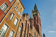 The town hall of Gdansk Royalty Free Stock Photography