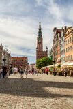Town Hall in Gdansk Stock Image