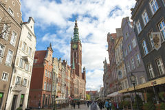 Town Hall  Gdansk, Poland Stock Images