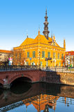 Town Hall in Gdansk, Poland. Royalty Free Stock Images