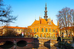 Town Hall in Gdansk, Poland. Stock Photography