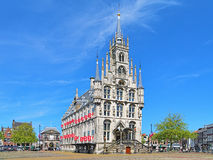 Town Hall in Gouda, Netherlands Royalty Free Stock Photos