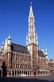 Town hall, Grand Place, Brussels, Belgium. Stock Photo
