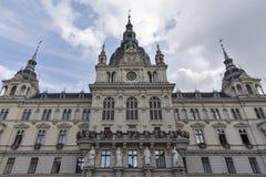Town hall in Graz, Austria stock photos