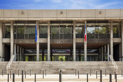 Town Hall of Grenoble city Stock Image