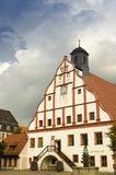 Town Hall of Grimma. Town Hall in the Market Square of Grimma Stock Images