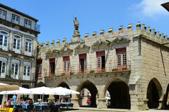 Town Hall in Guimarães, Portugal Stock Photo