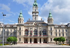 Town hall in Gyor Stock Photo