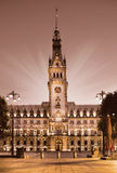 Town Hall in Hamburg, Germany Royalty Free Stock Images