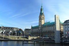 Town hall in Hamburg Royalty Free Stock Photo