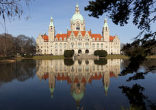 Hannover Town Hall Royalty Free Stock Image