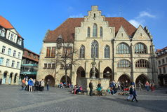 Town hall in Hildesheim Stock Images