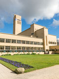 Town Hall of Hilversum by Dudok, Netherlands Royalty Free Stock Photography