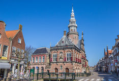 Town hall in the historical city Bolsward Stock Photography