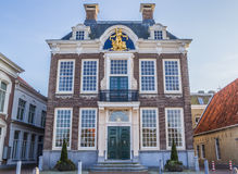 Town hall in historical city Harlingen Stock Images