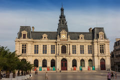 Town Hall, Hotel de Ville in Poitiers Stock Photography