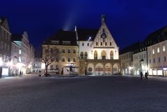 Town Hall In Amberg Stock Photography