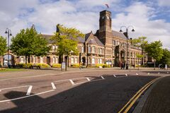 Free Town Hall In St Helens Merseyside Royalty Free Stock Images - 197836939