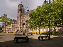 Free Town Hall In St Helens Merseyside Royalty Free Stock Image - 197838076