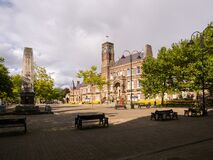 Free Town Hall In St Helens Merseyside Royalty Free Stock Photography - 197838427
