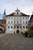 Town-hall Iphofen Stock Photo