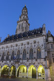 Town Hall and its Belfry in Arras in France Royalty Free Stock Photos