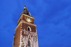 Town Hall - Krakow, Poland Stock Image